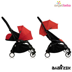 Babyzen - Babyzen Yoyo 0+ Red/Black