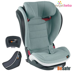 BeSafe - BeSafe iZi Flex Fix iSize - Sea Green Melange
