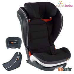 BeSafe - iZi Flex Fix iSize - Midnight crna (01)