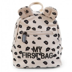 AKCIJA - Childhome My First Bag - Canvas Leopard