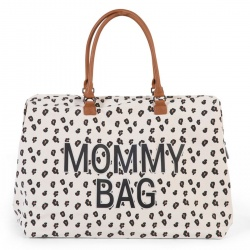 ChildHome - Childhome Mommy Bag - Canvas Leopard