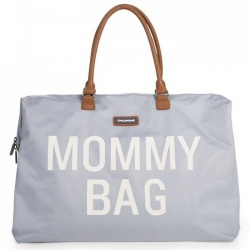 ChildHome | Mommy Bag | Mommy Bag - Grey off White