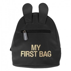 AKCIJA - Childhome My First Bag - Black