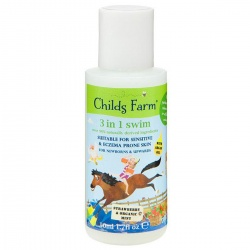 Ideje za poklone | Childs Farm dječja kozmetika | Childs Farm Swim gel za pranje 3u1, 50ml - Jagoda i organska menta