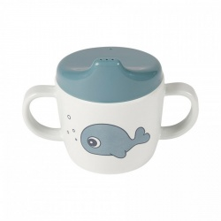 Hranjenje | Bočice Sippy Cups | Done by Deer Čašica za učenje pijenja - Sea Friends Blue