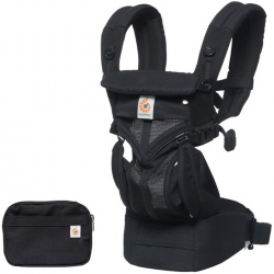 Ergobaby | Ergobaby Omni 360 Cool Air | Ergobaby Omni 360 Cool Air - Onyx Black