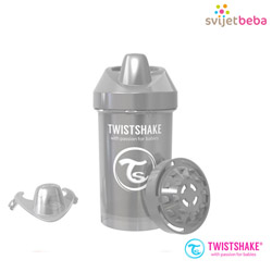 Pribor za jelo i piće - Hranjenje - Sippy Cups - Crawler Cup 300ml, 8+mj - Pearl Grey LIMITED