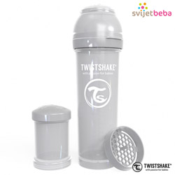 Twistshake - Bočice - Twistshake Anti-Colic 330ml - Pastel Grey
