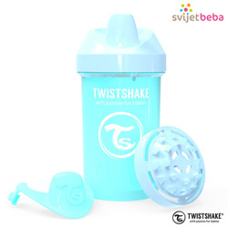 Hranjenje | Bočice Sippy Cups | Twistshake Crawler Cup 300ml, 8+mj - Pastel Blue