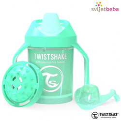 Pribor za jelo i piće - Hranjenje - Sippy Cups - Mini Cup 230ml, 4+mj - Pastel Green