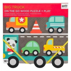 Ideje za poklone | Petit Collage igračke | PC Chunky Puzzle + Play Big Truck