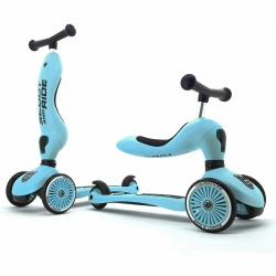 Igra na otvorenom - Scoot&Ride Highwaykick 1 - Blueberry
