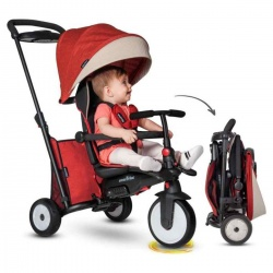 Igra na otvorenom | Smart Trike tricikli | Smart Trike - Folding STR 5 Melange Red