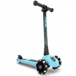 Igra na otvorenom | Highwaykick 3 LED - Romobil | Scoot&Ride Highwaykick 3 LED - Blueberry