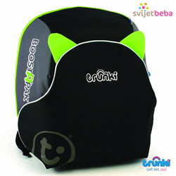 Trunki | Boostapak Booster+Ruksak | BoostApak - Green