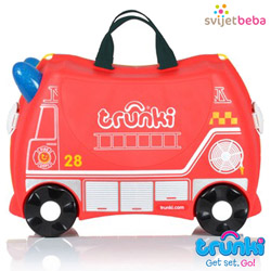 Trunki - Trunki kofer - Frank Fire Truck
