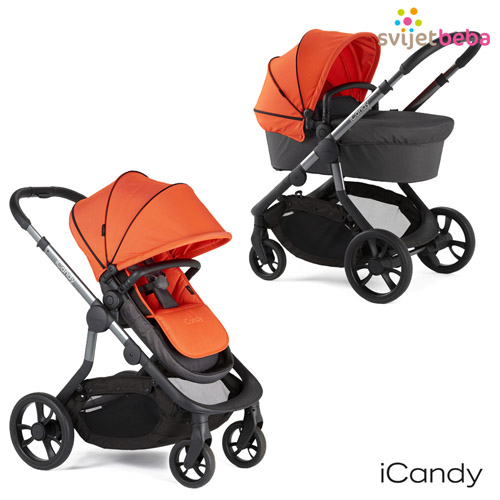 AKCIJA | Kolica 2u1 | iCandy Orange - Flame
