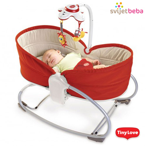 Ideje za poklone | Ležaljke | Tiny Love Cozy Napper - Red